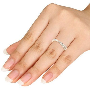 Kiara Swarovski Signity Sterling Silver Rajashree Ring_KIR1022