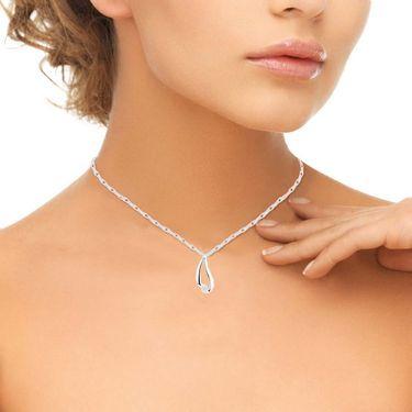 Ag Real Diamond Seema Pendant_AGSP0193