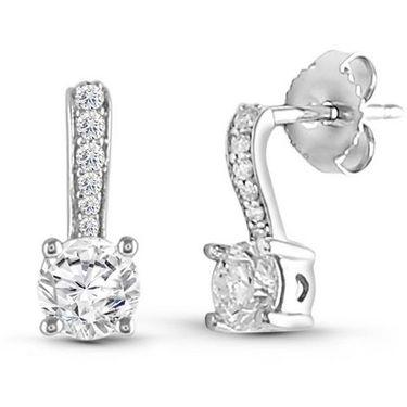 Kiara Swarovski Signity Sterling Silver Janavi Earring_KIE0508