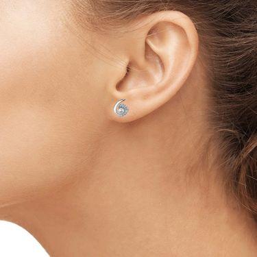 Kiara Swarovski Signity Sterling Silver Pranali Earring_KIE0552