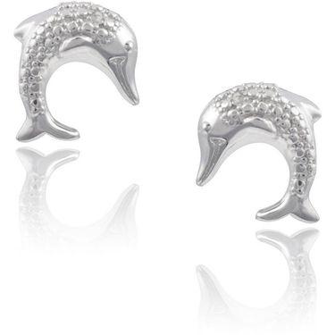 Kiara Swarovski Signity Sterling Silver Katrina Earring_KIE0456