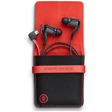 Plantronics Stereo BTH With Charging Case - Black