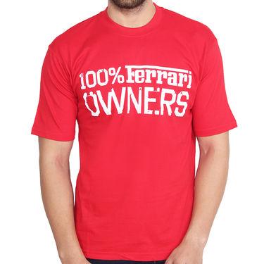 Branded Cotton Slim Fit Tshirt_Frcr10 - Red