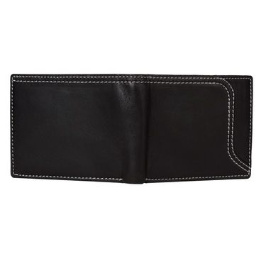 Spire Stylish Leather Wallet For Men_Smw150 - Black