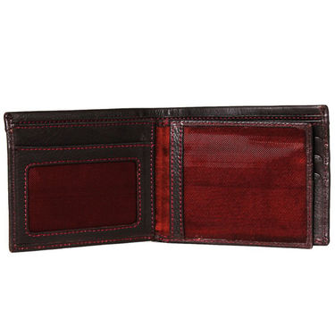 Spire Stylish Leather Wallet For Men_Smw160 - Black