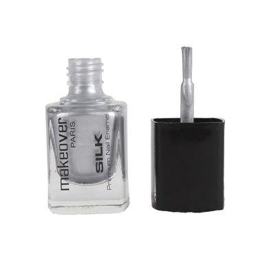 Makeover Professional Premium Nail Enamel - Hot Silk Silver