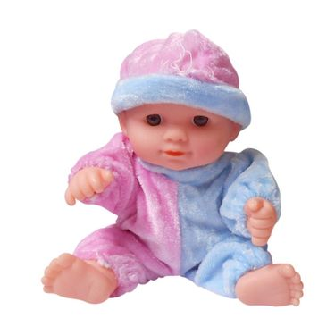 Pack of 2 Mini Lovey Baby Doll Series Pink & Purple