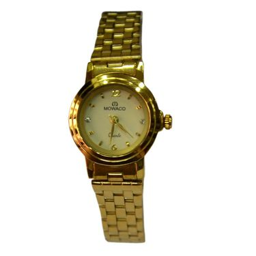 Branded Round Dial Analog Wrist Watch For Women_1403sm02 - White