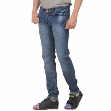 Forest Faded Slim Fit Denim Jeans_Jnfrt3 - Blue