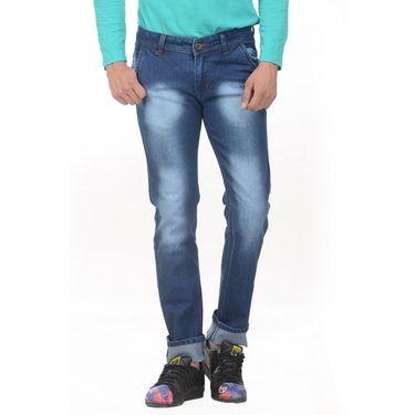 Forest Faded Slim Fit Denim Jeans_Jnfrt13 - Blue