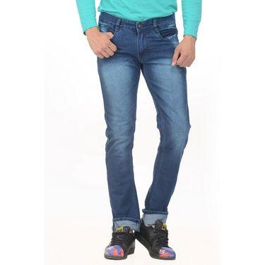 Pack of 2 Forest Plain Slim Fit Jeans_Jnfrt913 - Blue