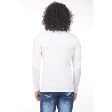 Pack of 2 Plain Regular Fit Tshirts_Htvrwdb - White & Navy