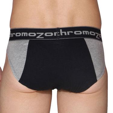 Pack of 3 Chromozome Regular Fit Briefs For Men_10040 - Multicolor