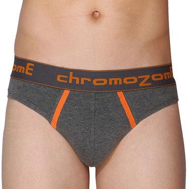 Pack of 3 Chromozome Regular Fit Briefs For Men_10070 - Multicolor