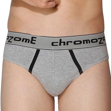 Pack of 3 Chromozome Regular Fit Briefs For Men_10075 - Multicolor