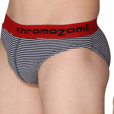 Pack of 3 Chromozome Regular Fit Briefs For Men_10134 - Multicolor