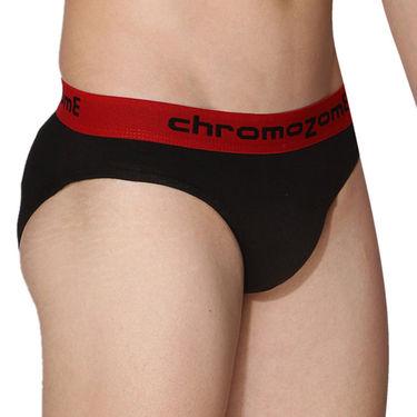 Pack of 3 Chromozome Regular Fit Briefs For Men_10179 - Multicolor