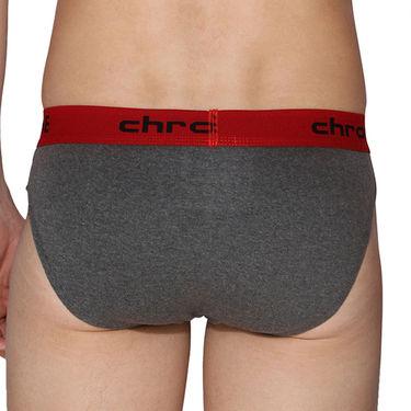 Pack of 3 Chromozome Regular Fit Briefs For Men_10194 - Multicolor