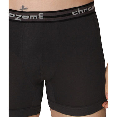Pack of 3 Chromozome Regular Fit Trunks For Men_10390 - Multicolor