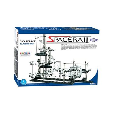 SpaceRail Marble 10000 mm Long Roller Coaster with Steel Balls - 231-2 Radium