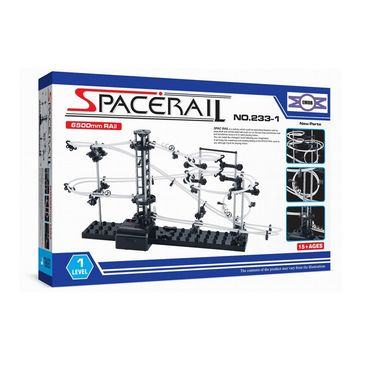 SpaceRail Marble 6500 mm Long Never Roller Coaster with Steel Balls - 233-Level 1