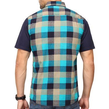 Crosscreek 100% Cotton Shirt For Men_1030309h - Green