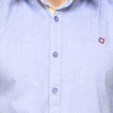 Crosscreek 100% Cotton Shirt For Men_1080313f - Purple