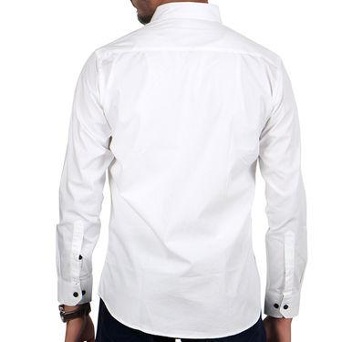 Combo of 1 Yellow Tree Cotton Denim + 2 Cotton Shirts_Osj07