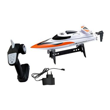 High Speed  Racing Boat with Velocity of 5.5 mtrs/sec Orange