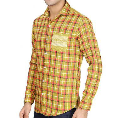 Pack of 2 Slim Fit Cotton Shirts For Men_A5092140 - Multicolor