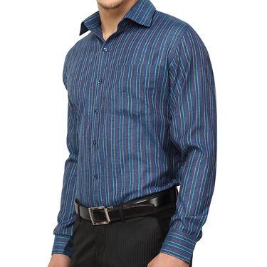 Copperline 100% Cotton Shirt For Men_CPL1188 - Blue