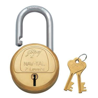 Godrej Navtal 7 Lever 2 Key with Shut height 30 MM