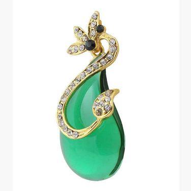 Kriaa Austrian Stone Resin Finish Earrings _1305726