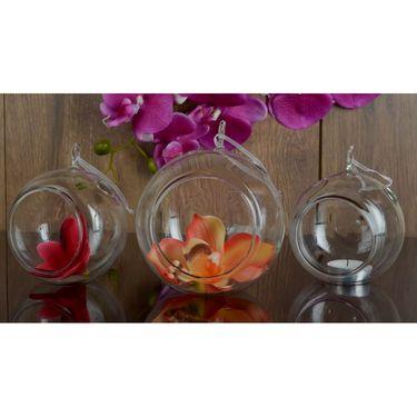 Hanging  Glass Ball Set Of 3 Pcs-1309-0156H