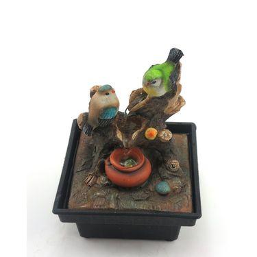 Multicolor bird water fountain-1412-0584