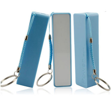 Vox Portable 2000mAh Power Bank with Key chain - Blue