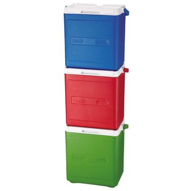 Coleman (18 Qt) 16.92 Ltrs Party Stacker Cooler - Red