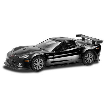 RMZ Chevrolet Corvette C6.R Black Pullback Diecast Toy Car