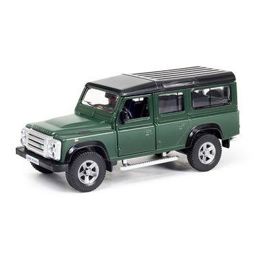 RMZ Land Rover Defender Matte Dark Green Pullback Diecast Toy Car