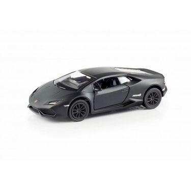 RMZ Lamborghini Huracan LP610-4 Matte Black Pullback Diecast Toy Car