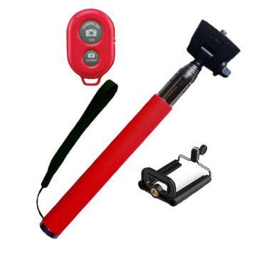 Flashmob 328DC Bluetooth Selfie Stick - Red
