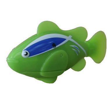 Water Sensitive Robot Clownfish Toy - Green