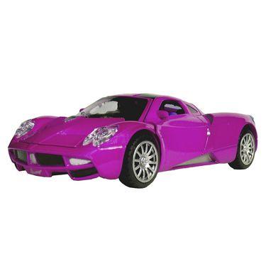 1:28 Scale Purple Die-Cast Dashing Sports Car Toy Model