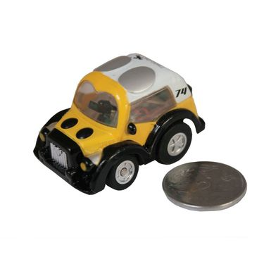 Adraxx Stunt Parkour Fly Mini RC Car Toy - Yellow