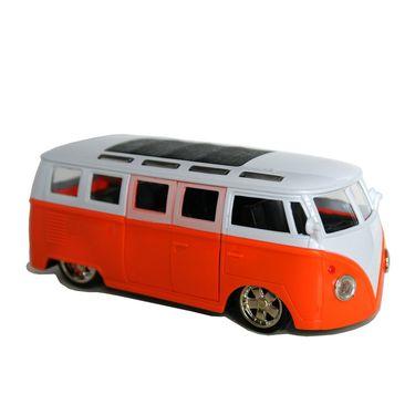 School Bus With Light, Music, Opening Doors and TV Inside - Orange