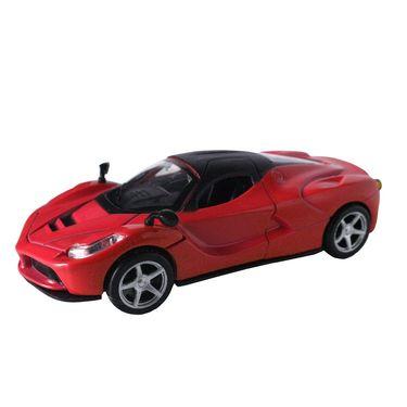 1:32 Scale Die Cast Door Opening Dashing Toy Car - Red