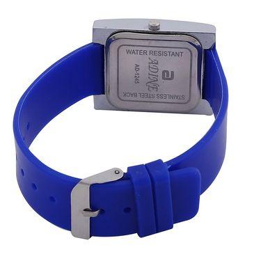 Adine Square Dial Analog Wrist Watch For Women_45bw022 - White