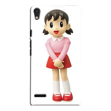 Snooky Digital Print Hard Back Case Cover For Huawei Ascend P6 Td12423