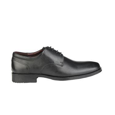 Delize Leather Formal Shoes 64873-Black