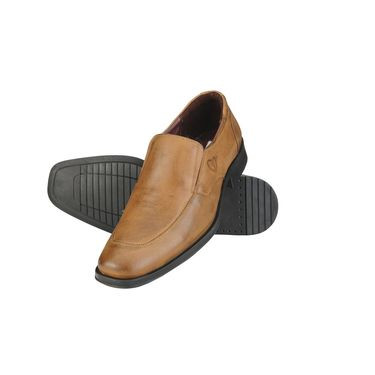 Delize Leather Formal Shoes 64874-Tan